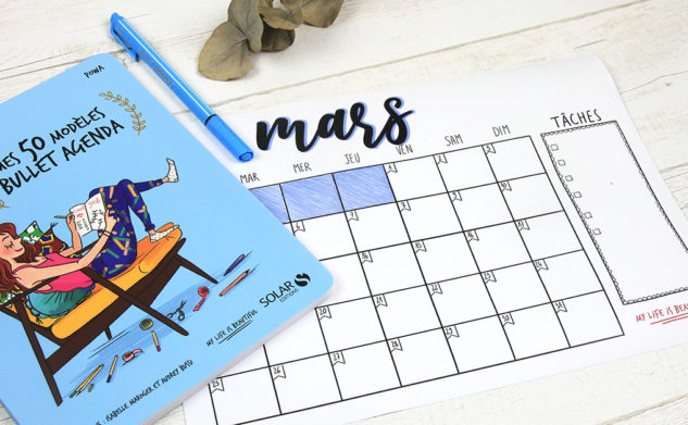 Mon monthly log de mars