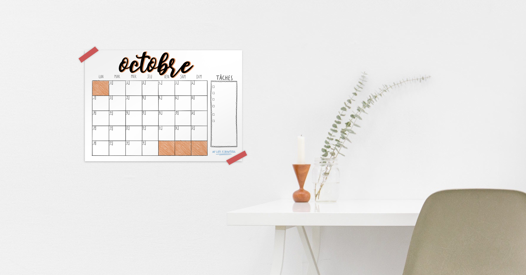 Mon monthly log d'octobre